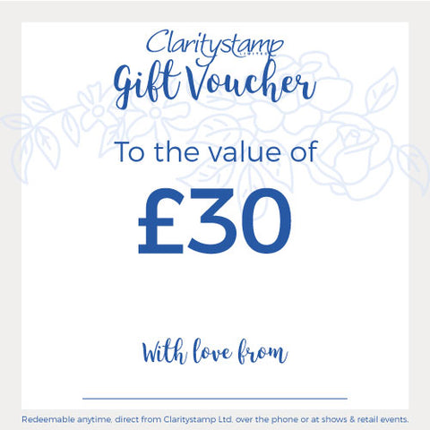 Clarity £30 Gift Card