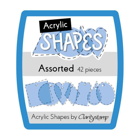 Acrylic Shapes - Mini Assorted Shapes