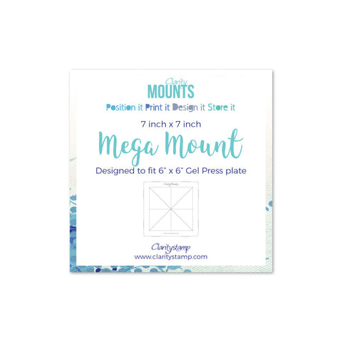 "Clarity Mega Mount 7"" x 7"""