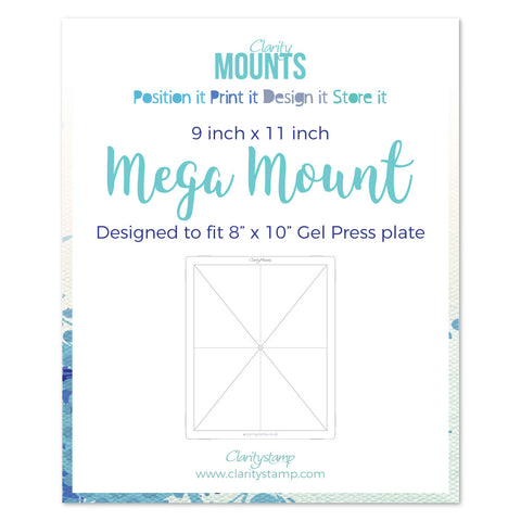 "Clarity Mega Mount 9"" x 11"""