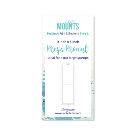"Clarity Mega Mount 9"" x 3"""