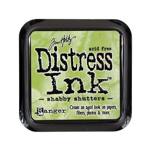 Distress Ink Pad - Shabby Shutters