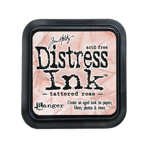 Distress Ink Pad - Tattered Rose