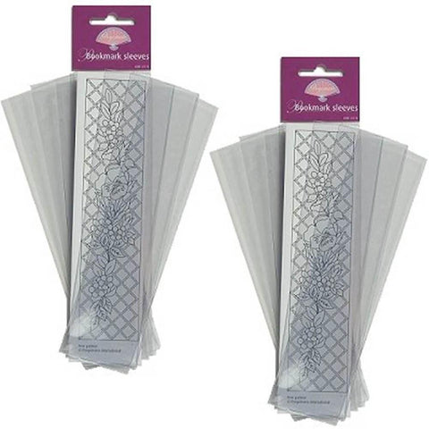 2 x Packs of Pergamano Bookmark Sleeves (41174)