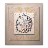 Fairies Rounds - Fine Line Trio + MASKS <br/>Unmounted Clear Stamps