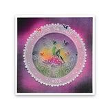 Fairy Rounds Quartet <br/>A5 Square Groovi Plate Set