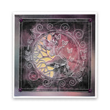 Fairy Rounds Quartet A5 Square Groovi Plate Set