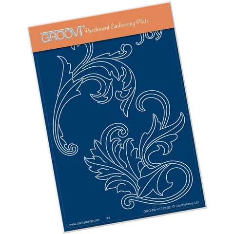 Joy Filigree Swirls <br/>A6 Groovi Plate
