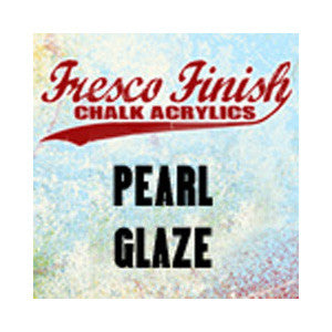 Fresco Finish Acrylic Glaze - Pearl