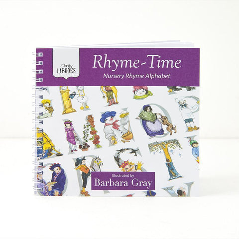 Clarity ii Book: Rhyme-Time <br/>Nursery Rhyme Alphabet <br/>by Barbara Gray