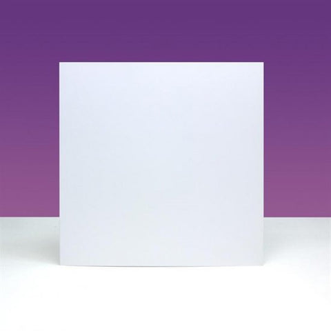 "CARD BLANKS & ENVELOPES X 10 8"" x 8"" <br/> DOVE WHITE INK ME! <br/> (UK & EU ONLY)"