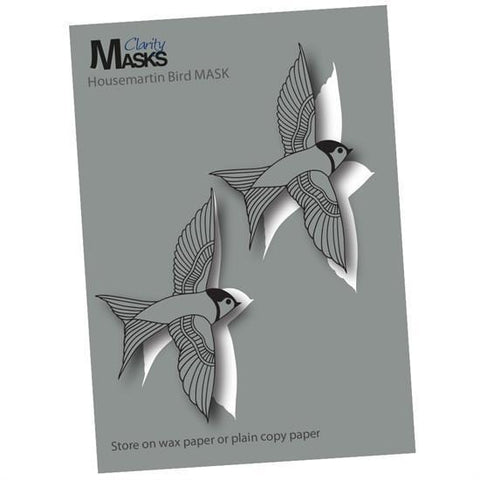 House Martin Bird MASK