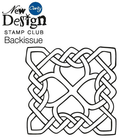 New Design Stamp Club Back Issue 94 - Celtic Knot