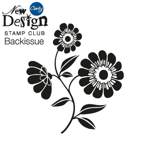 New Design Stamp Club Back Issue 95 - Flower Stem