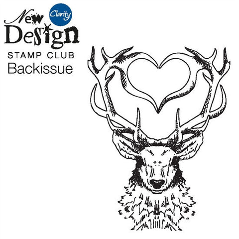 New Design Stamp Club Back Issue 98 - Stag Heart
