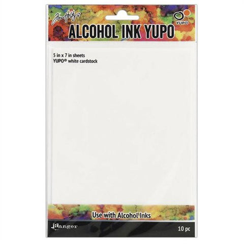 Alcohol Ink Yupo Paper x10