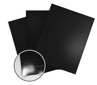 Clarity Card Black Coated Card A5 x25