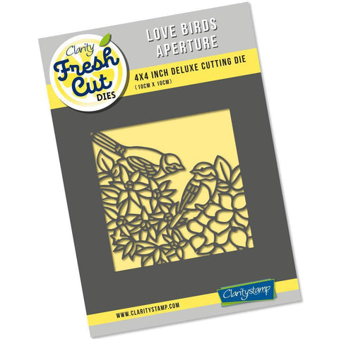 Love Birds Aperture <br/>Clarity Fresh Cut Die