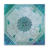 Mahalo Mandala <br/>A6 Square Groovi Baby Plate <br/>(Set GRO-PA-40939-01)