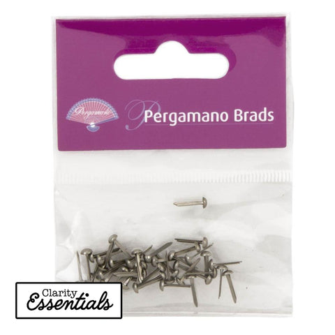 Antique Silver Pergamano Brads