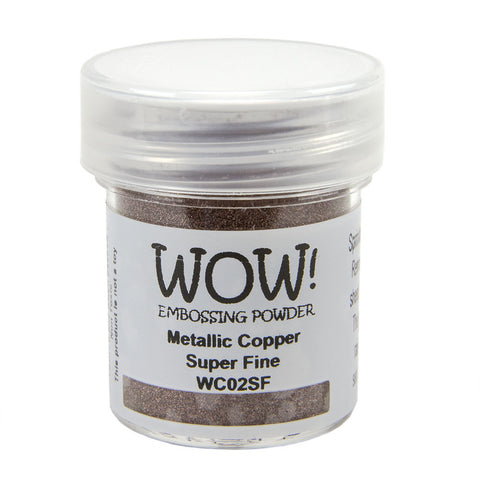 Embossing Powder Super Fine 15ml - Metallic Copper
