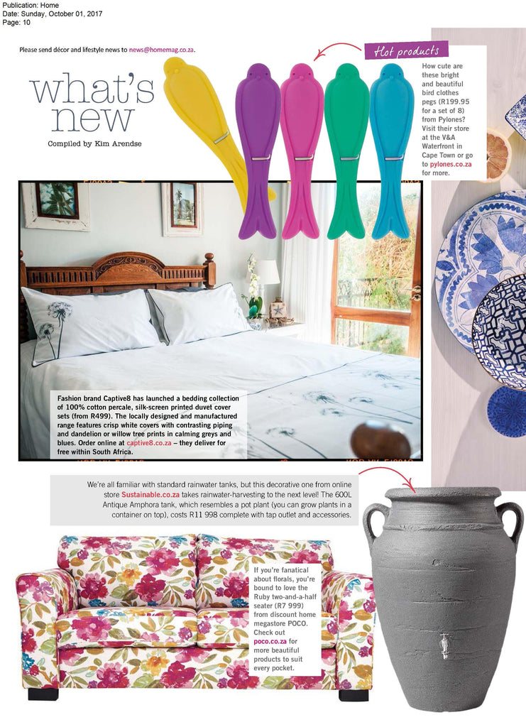 Captive8 House of Homeware Bedding | Home Magazine October 2017