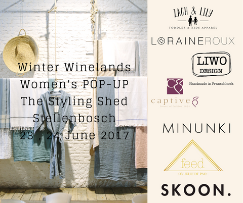 Winter Winelands Pop-Up Shop