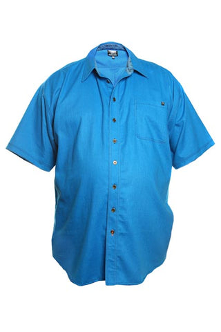 Alpha Male Clothing Turquoise Short Sleeve Shirt