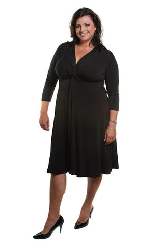 Captive8 Plus Size Black Jacki Dress