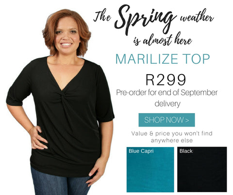 Captive8 House of Fashion Plus Size Marilize Top