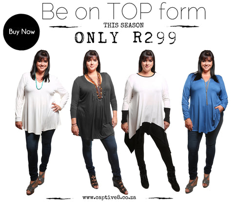 Captive8 House of Fashion Plus Size Winter Tops
