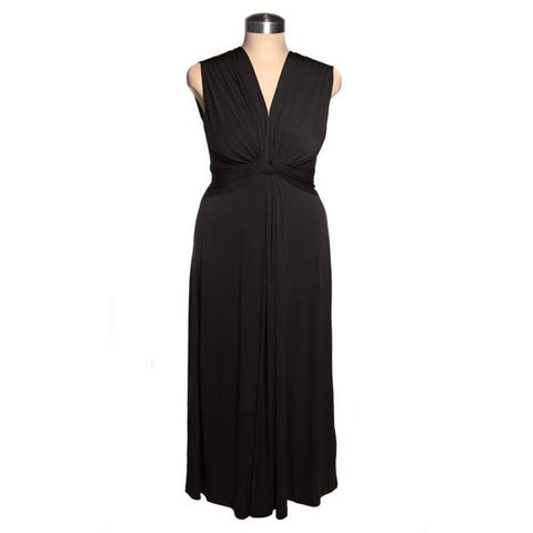 Sheba Maxi Dress Black (Delivery at end of January)