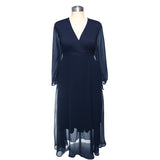Katy Dress Navy