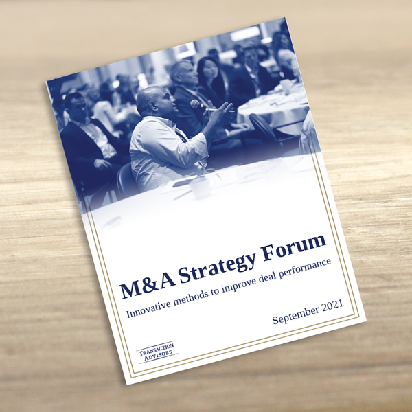 M&A Strategy Forum | September 2021