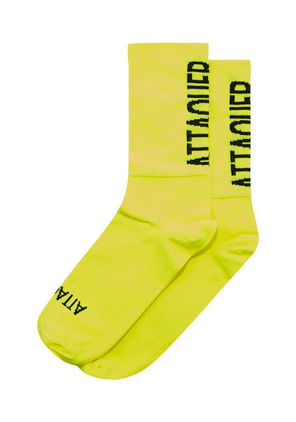 ATTAQUER Over Shoe Covers FLURO YELLOW