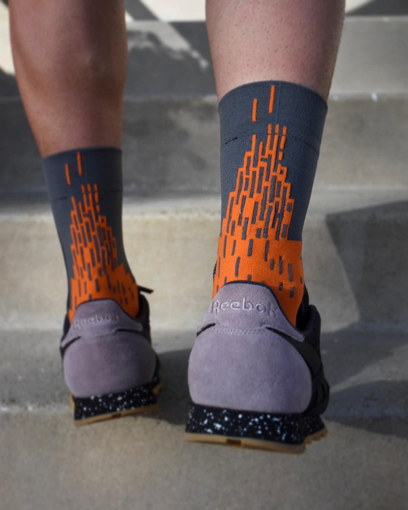 BASE CARTEL Le Flame Socks