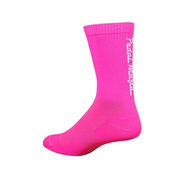 PEDAL MAFIA - Tech Mesh Socks BRIGHT PINK
