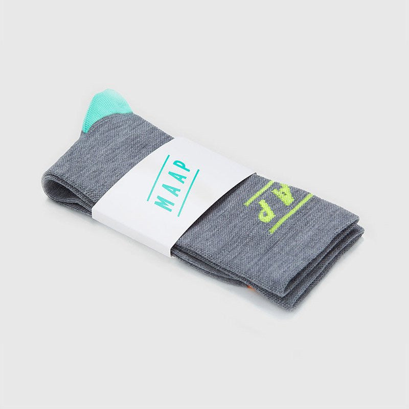 MAAP APPAREL Type Merino Socks Grey
