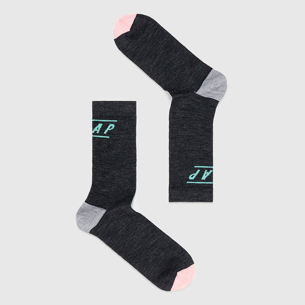 MAAP APPAREL Type Merino Socks Charcoal
