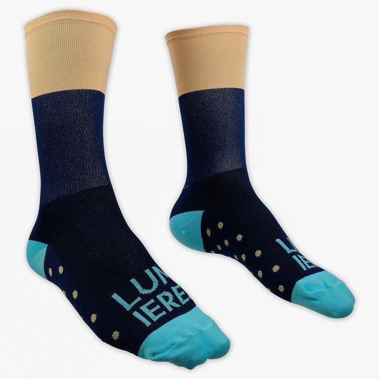 Lumiere Tropica Socks - Peach