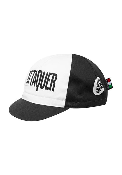 ATTAQUER F*CK YEAH Cycling Cap - BLACK / WHITE