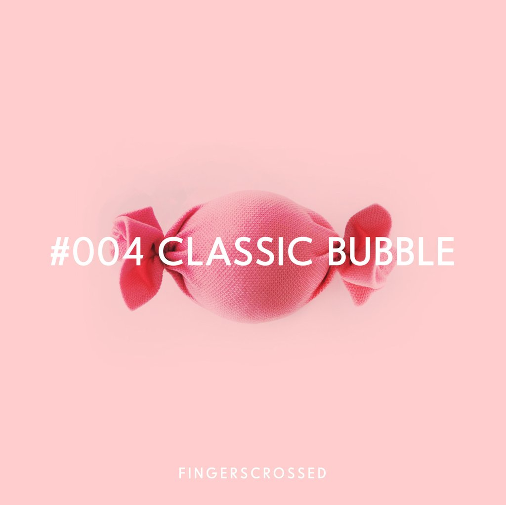 FINGERSCROSSED DESIGN - CLASSIC BUBBLE