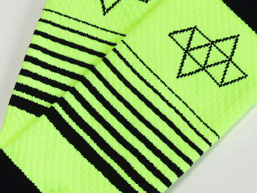 ACHT SUPPLY - KOM GRADIENT SOCKS NEON/BLACK