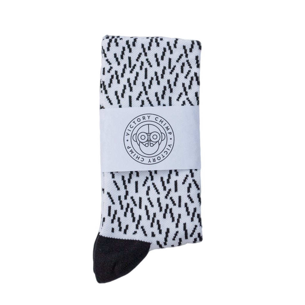 VICTORY CHIMP HAIRO SOCKS - ALBINO