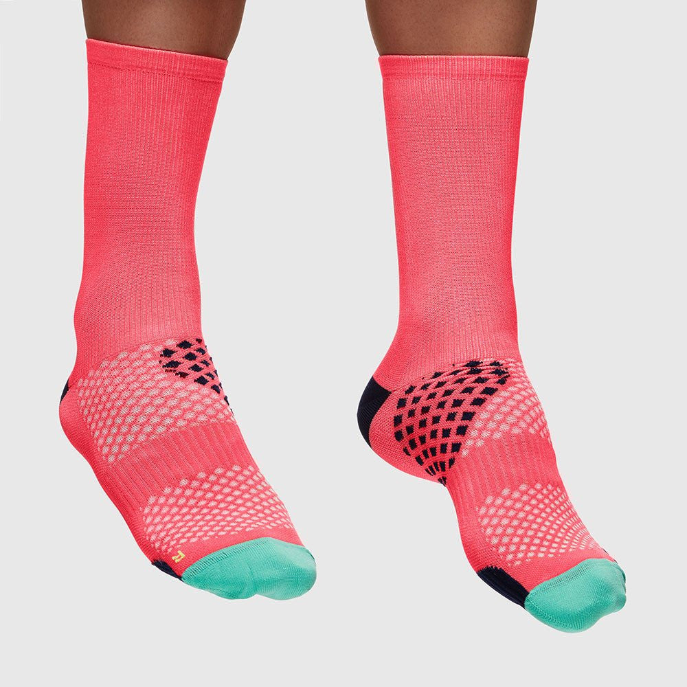 MAAP APPAREL Focus Performance Socks Coral