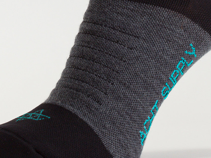 ACHT SUPPLY - REFLECTIVE WINTER SOCKS AQUA