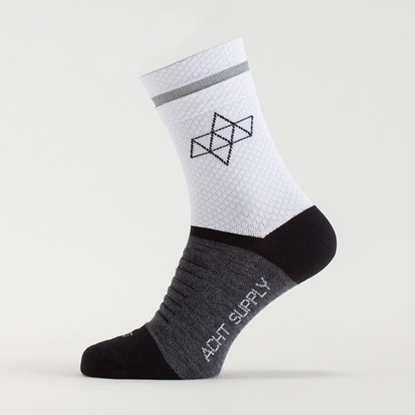 ACHT SUPPLY - REFLECTIVE WINTER SOCKS WHITE