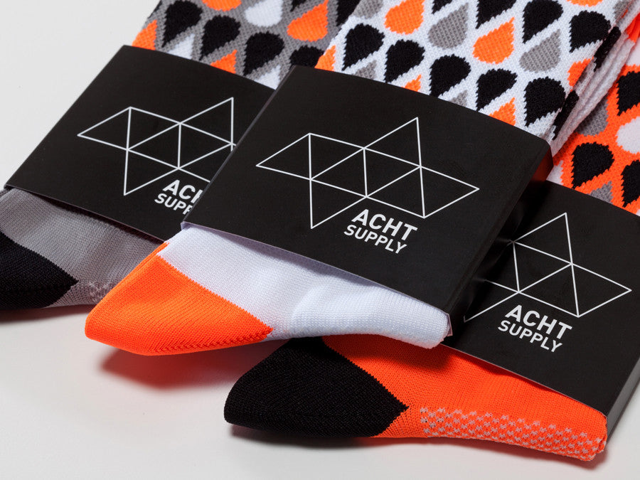 ACHT SUPPLY - PLUVIA SOCKS GREY
