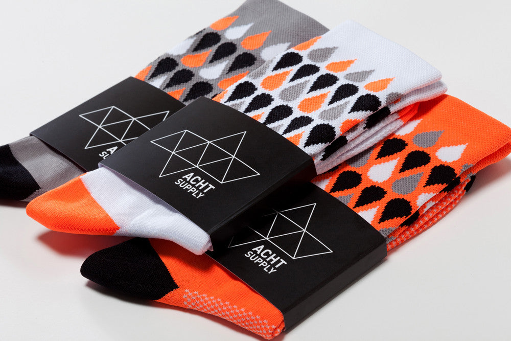 ACHT SUPPLY - PLUVIA SOCKS ORANGE