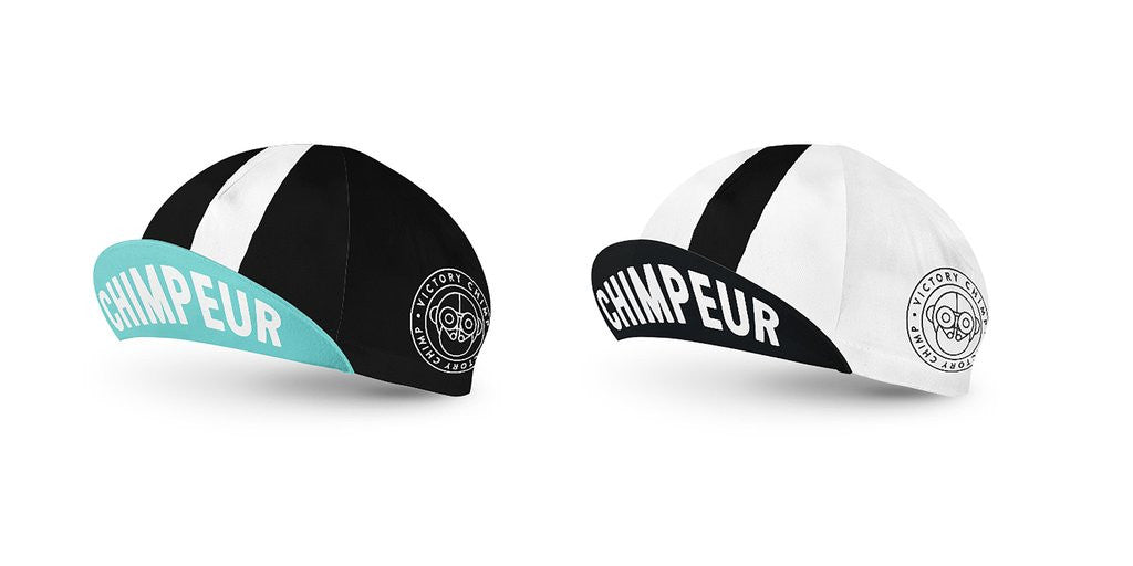 VICTORY CHIMP CHIMPEUR CLASSIC CYCLING CAP - SILVERBACK